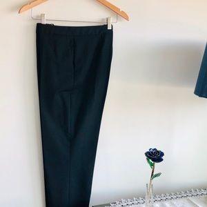 Lands End Slim Black Ankle Pants, New/Never Worn